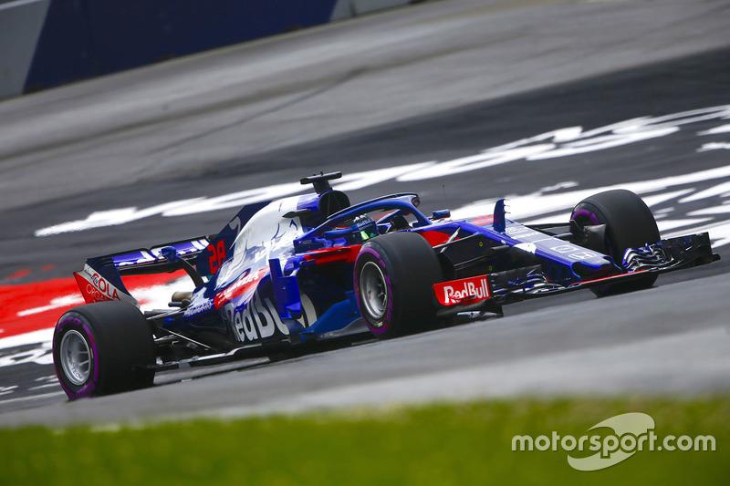 19. Брендон Хартлі, Toro Rosso STR13 — 1
