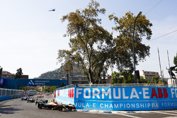 Jean-Eric Vergne, Techeetah, Nelson Piquet Jr., Jaguar Racing, Andre Lotterer, Techeetah, al inicio