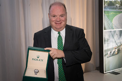 Chip Ganassi with his Grand Marshal Rolex watch