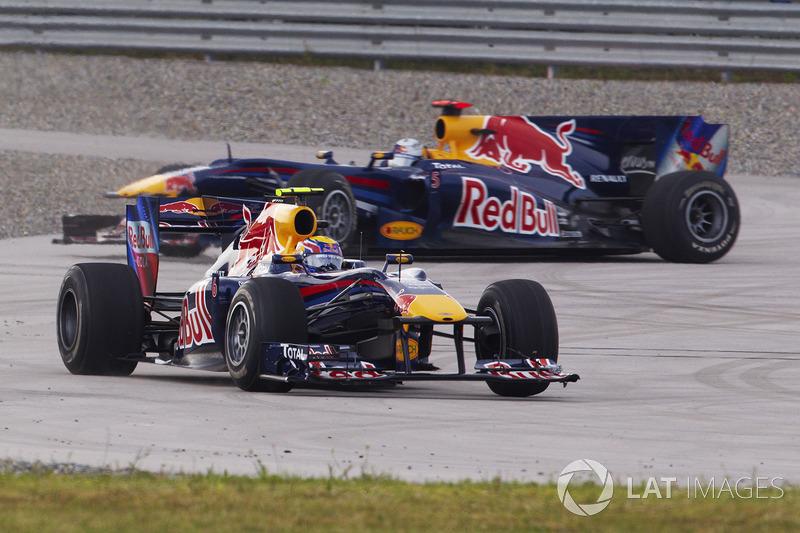6: Mark Webber & Sebastian Vettel (Red Bull)