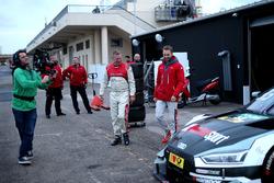 René Rast, Audi Sport Team Rosberg, Audi RS 5 DTM, mit Roman Wittemeier, Motorsport.com