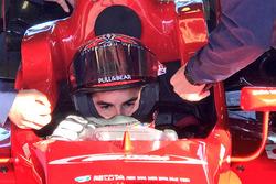 Marc Marquez tests a F3 car