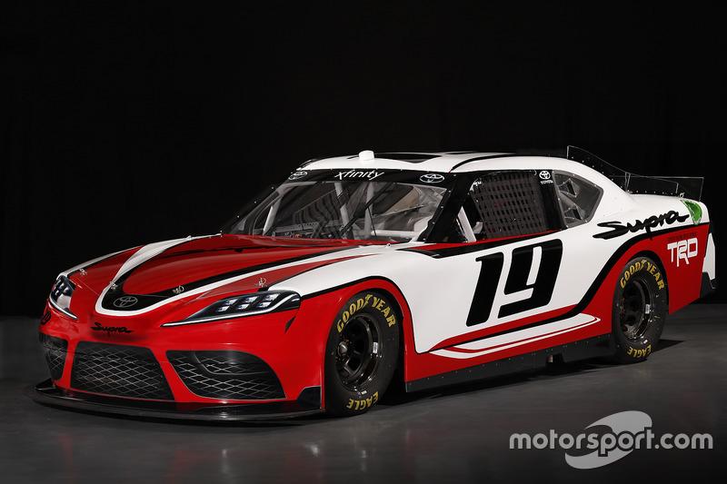 Bildergalerie Toyota Supra Fur Nascar Xfinity Serie 2019