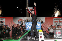 Ben Rhodes, ThorSport Racing, Ford F-150 Alpha Energy Solutions in victory lane