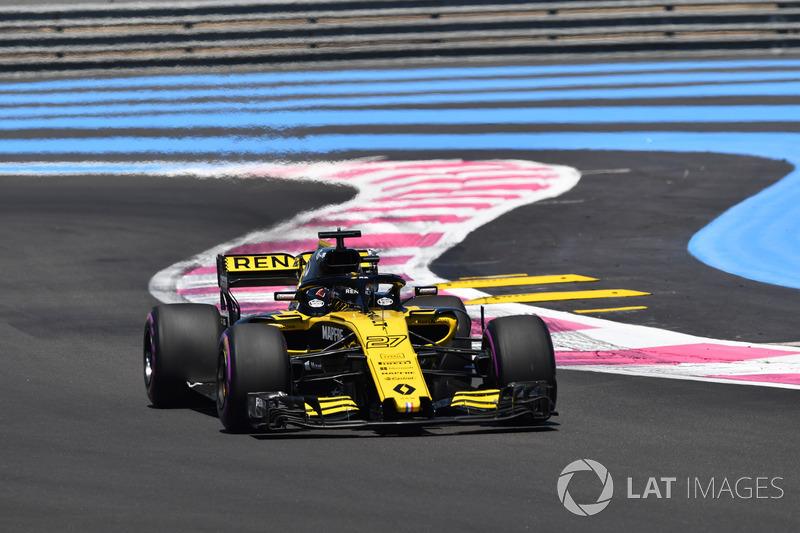 12. Nico Hülkenberg, Renault Sport F1 Team R.S. 18