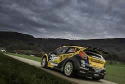Cédric Althaus, Jessica Bayard, Ford Fiesta R5, Lugano Racing Team