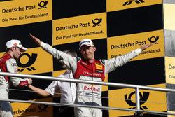 Подиум: обладатель второго места Маттиас Экстрём, Audi Sport Team Abt Sportsline