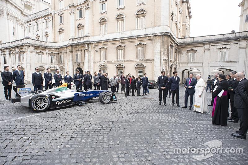 La residencia de Santa Marta, en el Vaticano, fue el escenario del encuentro