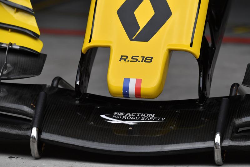 Renault Sport F1 Team RS18 : museau