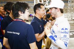 Pierre Gasly, Toro Rosso, 4. sırayı kutluyor