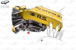 Renault R.S.17 bargeboard, captioned