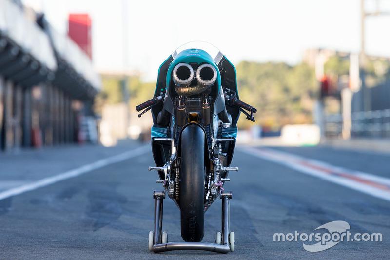 Bike rear detail of Adam Norrodin, Petronas Sprinta Racing