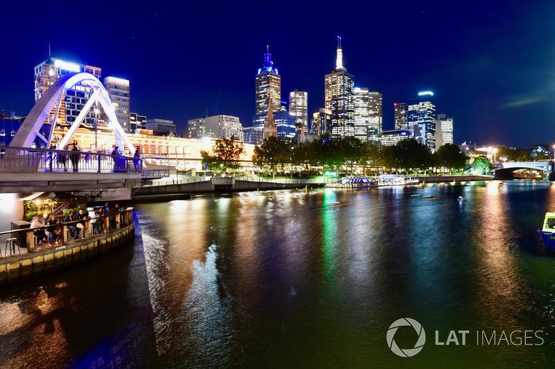 Le paysage de Melbourne