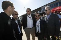 Andrew Craig, Pierre Fillon, ACO presidente, Gérard Neveu, CEO de WEC