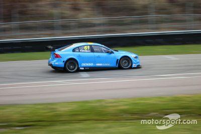 Тесты Volvo S60 TC1 Polestar Cyan Racing