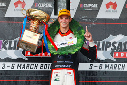 Podium: winner Nick Percat, Lucas Dumbrell Motorsport Holden