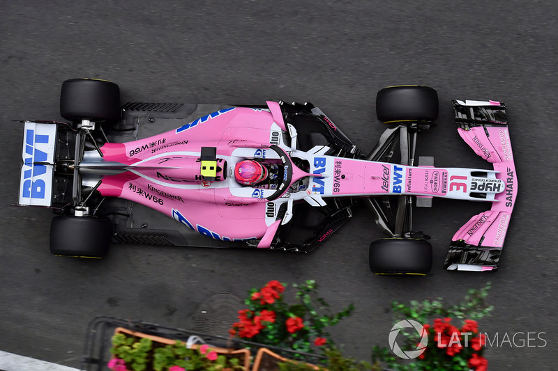 7. Esteban Ocon, Force India VJM11