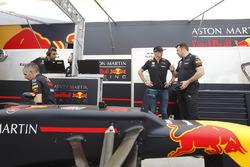Max Verstappen, Red Bull Racing prepares to drive