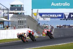 Scott Redding, Pramac Racing, Andrea Dovizioso, Ducati Team, Dani Pedrosa, Repsol Honda Team