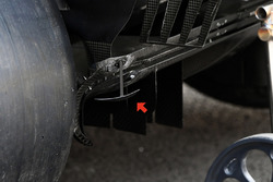 Renault Sport F1 Team RS17 diffuser