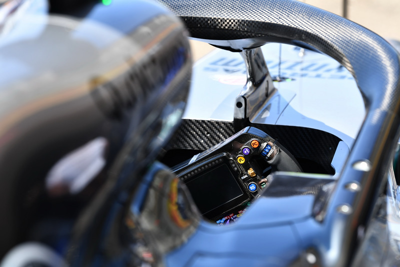 Volante del Mercedes-AMG F1 W09
