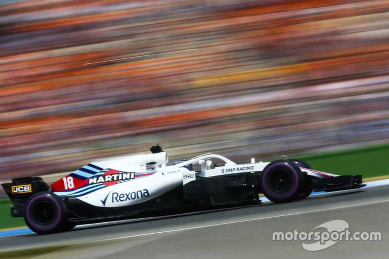17: Lance Stroll, Williams FW41, 1'14.206