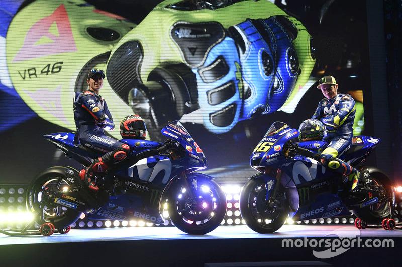 El pasado año Yamaha se presentó en Madrid, con Viñales y Rossi