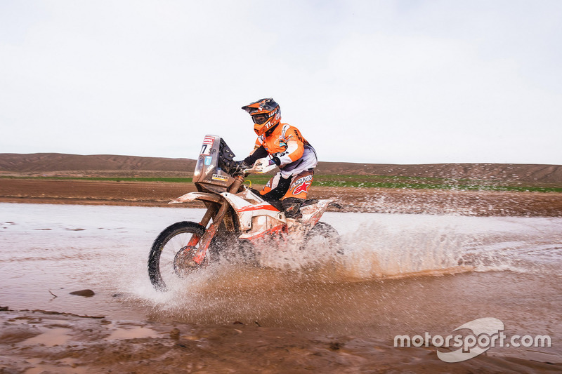 #77 KTM Racing Team: Luciano Benavides