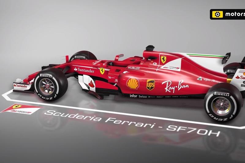 Forma-1  Videón a Ferrari brazíliai fejlesztései