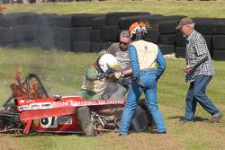 Nelson Rowe, crash