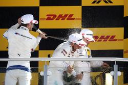 Podio: Marco Wittmann, BMW Team RMG, Gary Paffett Mercedes-AMG Team HWA, Pascal Wehrlein, Mercedes-AMG Team HWA