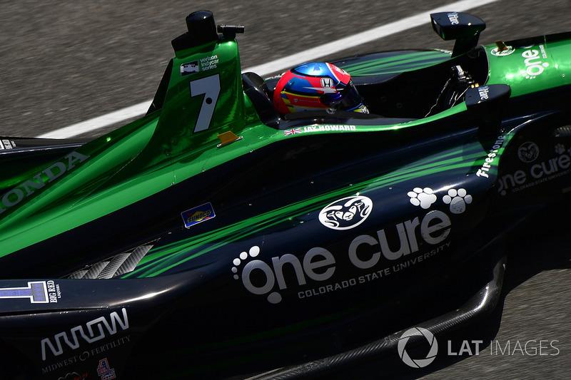 28: Jay Howard, Schmidt Peterson Motorsports / AFS Racing Honda, 225.388