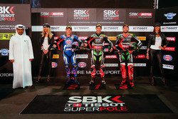 Superpole: Jonathan Rea, Kawasaki Racing, Alex Lowes, Pata Yamaha, Tom Sykes, Kawasaki Racing