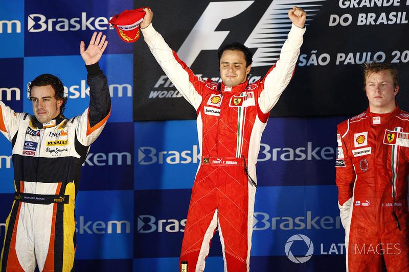 2008: Última victoria de un piloto brasileño en casa