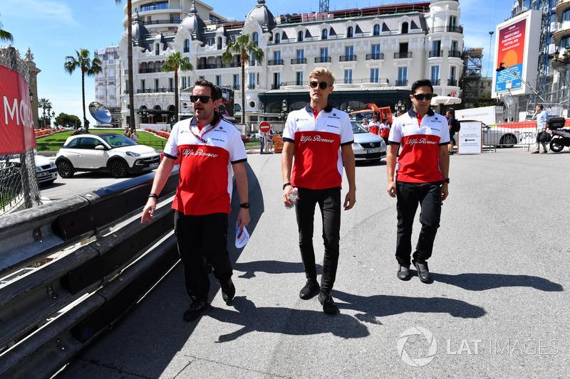 Marcus Ericsson, Sauber mengitari trek