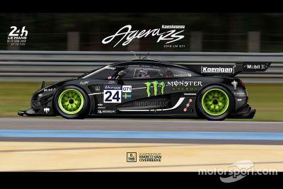 Designkonzept: GT1-Autos für Le Mans