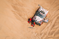 Элко Беккер и Сейбранд Боэй, EB Rallyteam, Toyota Land Cruiser ORD (№369)