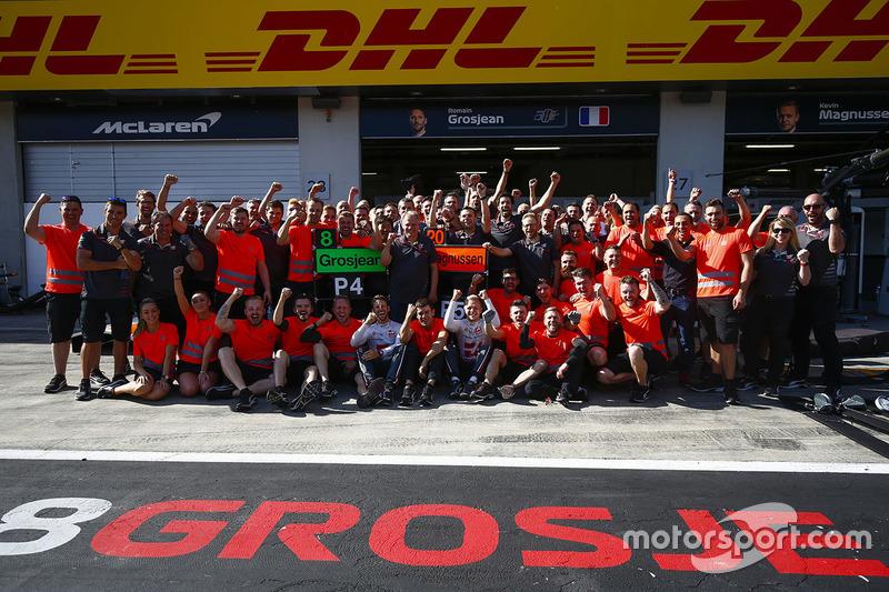 Photo de groupe de Haas F1 Team