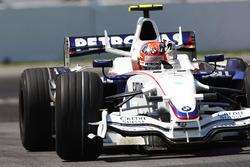 Победитель Роберт Кубица, BMW Sauber F1.08