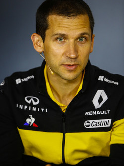 Remi Taffin, Director of Operations, Renault Sport F1, in the Team Principals Press Conference