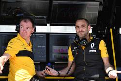 Alan Permane, Renault Sport F1 Team Race Engineer en Cyril Abiteboul, Renault Sport F1 Managing Director