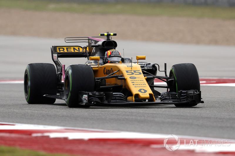 Карлос Сайнс, Renault Sport F1 Team RS17