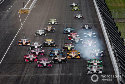 السباق الثاني في إنديانابوليس