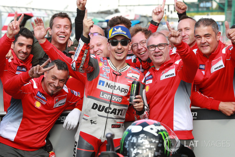 Pole, Jorge Lorenzo, Ducati Team