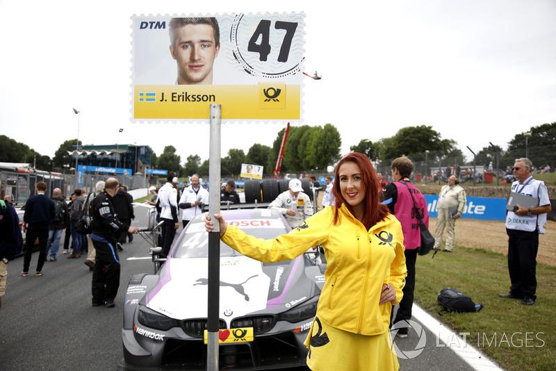 Chica de la parrilla de Joel Eriksson, BMW Team RBM