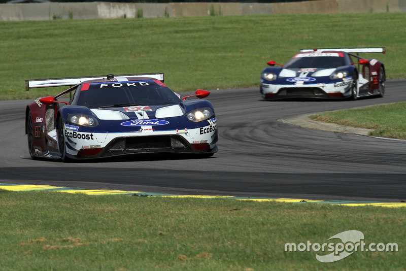 #67 Chip Ganassi Racing Ford GT, GTLM: Ryan Briscoe, Richard Westbrook.