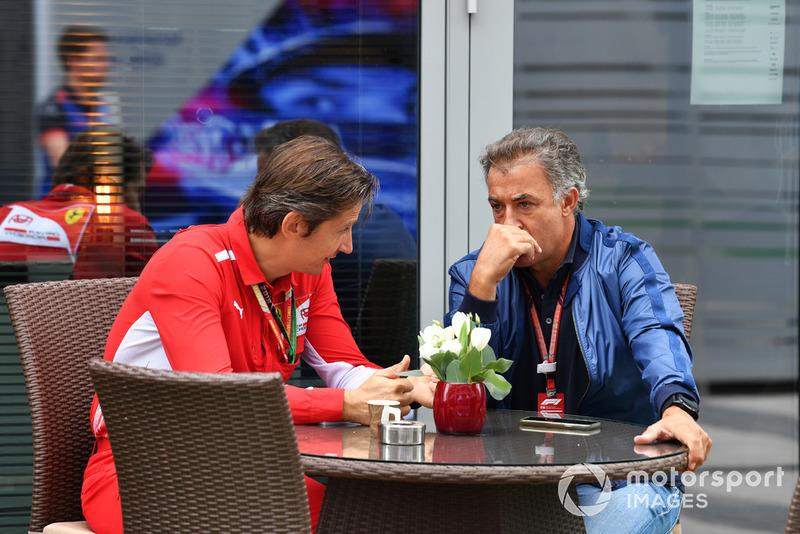 Massimo Rivola, Ferrari and Jean Alesi
