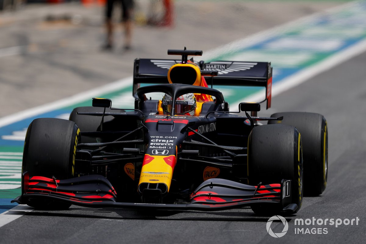 P3 Max Verstappen, Red Bull Racing RB16