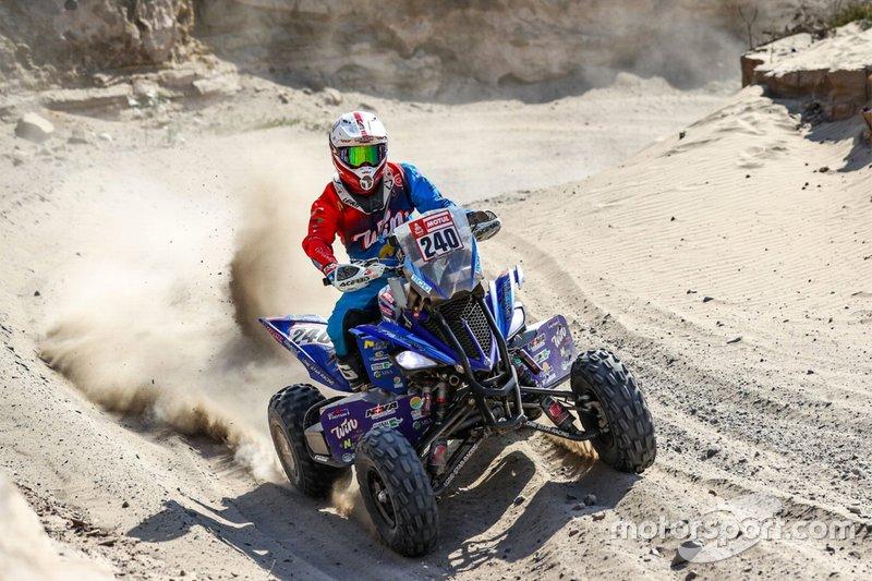 #240 Nicolas Cavigliasso, Drag'On Rally Team: