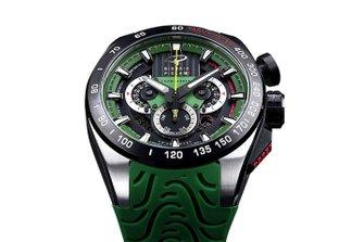 Giorgio Piola watch - Green
